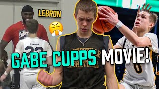 Gabe Cupps STARS In His Own Reality Show! From Challenging LEBRON To Getting TONS Of D1 Offers