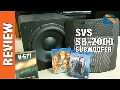SVS SB-2000 Subwoofer & SoundPath Isolation System Review