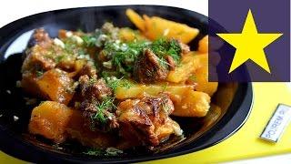 ✔ Говядина с картошкой (в мультиварке) в пряном ароматном соусе