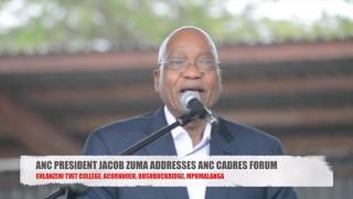 JACOB ZUMA SLAMS WEST. SAYS RUSSIA, CHINA ASSISTED ANC.