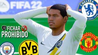 PROHIBIDO FICHAR EN EL HUMILDE FC (FIFA 22) MODO CARRERA