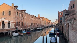 Friday 1 October at 17.00 - A Live Walk in Cannaregio East and Castello West