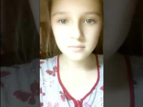 Menina russa linda