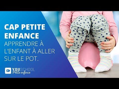 CAP Petite Enfance • Apprendre à l'enfant à aller sur le pot