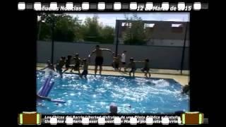 preview picture of video 'Noticias  La Pileta Municipal pública y Gratuita del Barrio Libertad de Cañuelas'