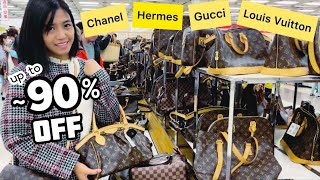 BIG SALE: LOUIS VUITTON, CHANEL, HERMES, GUCCI, PRADA | CHEAP DESIGNER BAGS CHARITY EVENT JAPAN