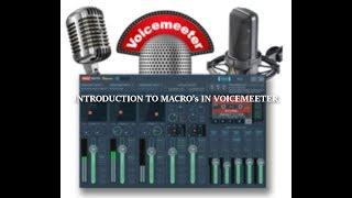 voicemeeter macro buttons tutorial - मुफ्त ऑनलाइन