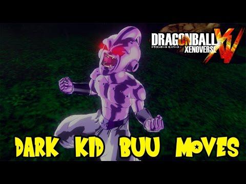 Dragon Ball Xenoverse: Villainous Dark Kid Buu Moveset & Super Perfect Cell's Spirit Bomb
