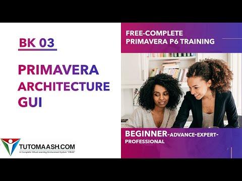 BK03- Primavera Database and User Interface| Free Primavera p6 ...