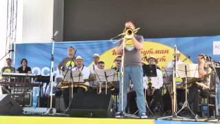 Сергей Долженков (тромбон) и биг-бенд г Сочи п/у Сергея Кокорина-A child is Born