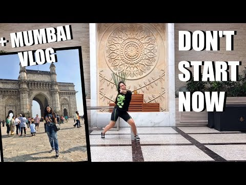 DON'T START NOW Dua Lipa Dance Choreography + MUMBAI, INDIA VLOG 🇮🇳