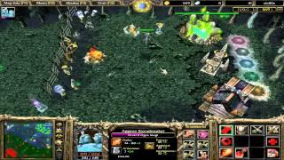 Warcraft III - Partida Multijugador Dota N1
