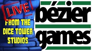Bézier Games visits The Dice Tower...LIVE!!