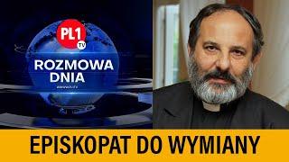 """MÓJ KANAŁ """"Episkopat do wymiany"""" – rozmowa z ks. Tadeuszem Isakowiczem-Zaleskim"""