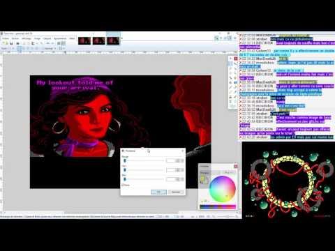Amstrad CPC Graphics Live – Ep08