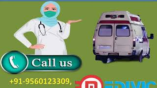 Receive Road Ambulance  Service in Patna and Darbhanga