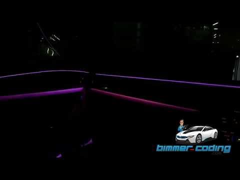 Coding in BMW G30: Blue version digital speedo activation in G30