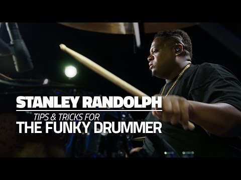 Stanley Randolph - Tips & Tricks For The Funky Drummer (FULL DRUM LESSON) Mp3