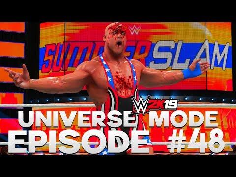 WWE 2K19 | Universe Mode - 'SUMMERSLAM PPV!' (PART 2/4) | #48