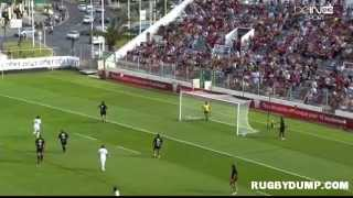 preview picture of video 'Football-Rugby in France 2013 Toulon Marseille 1st half'