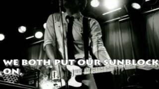 Owl City-Sunburn LYRICS