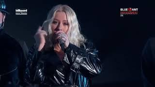 """Cristina Aguilera - Fall In Line ft. Demi Lovato live on """"Billboard Music Awards 2018 HD"""""""