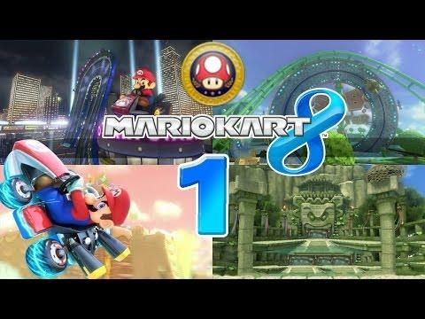 Let's Play Mario Kart 8 Part 1: Pilz Cup 150ccm