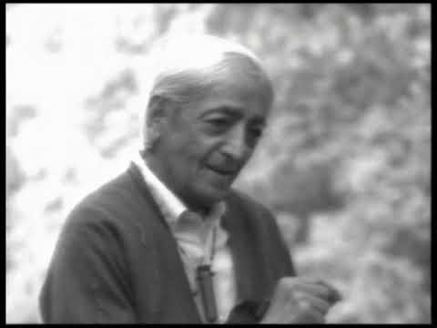 Goodness is not the opposite of the bad | J. Krishnamurti