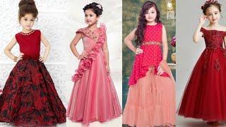 Beautiful Little Girls Fancy Dress Designs Ideas//trendy Stylish Fancy Dress For Little Girls