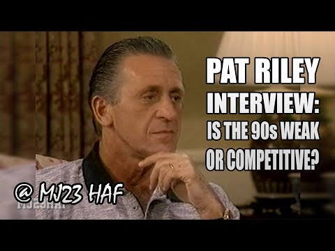Pat Riley Comments on 90s NBA Interview (1997.03.09)