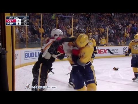 Ryan Johansen vs. Sam Bennett