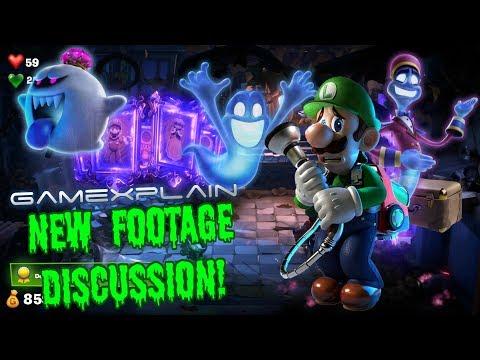 Luigi's Mansion 3 GamePlay Discussion! (GameXplain Video) - ZakPak
