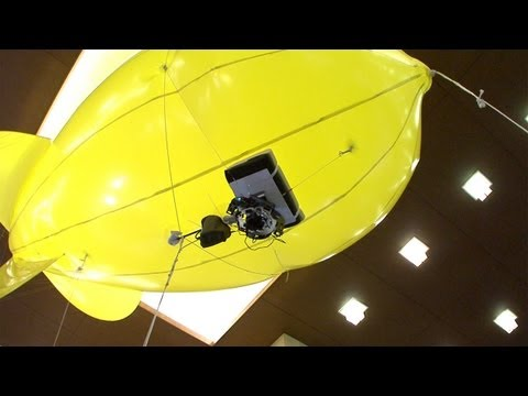 Stabilised Blimp Cam Provides Smooth Footage Of Everything But Hurricanes