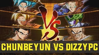 DBFZ - ChunBeYun (Goku Blue) VS (Trunks) DizzyPC - Ranked FT2