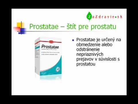 Wobenzym prostatitida, jak se