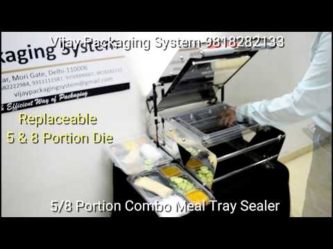 Thali - Meal Tray Sealing Machine 8 portion