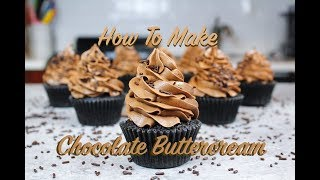 how to make chocolate buttercream with chocolate