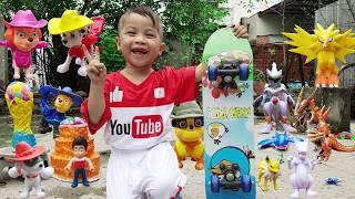 Trò Chơi Bé Săn Động Vật ❤ ChiChi ToysReview TV ❤ Đồ Chơi Trẻ Em Baby Doli