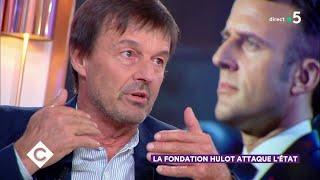 Nicolas Hulot : invité spécial ! - C à Vous - 14/03/2019