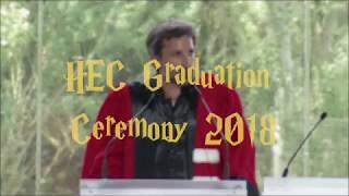 HEC Paris : the School of secrets (2018 Graduation Ceremony)