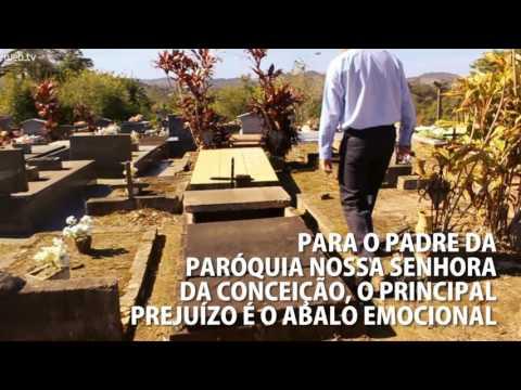 Dois atos de vandalismo em três dias no Cemitério Católico de Araricá