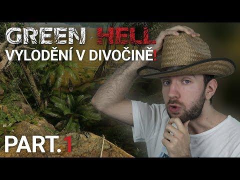 VYLODĚNÍ V DIVOČINĚ! | Green Hell #01