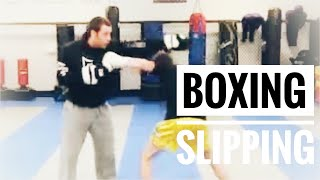Boxing Lesson #3 - Slipping