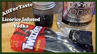Vodka Infusion Project - Licorice Infused Vodka