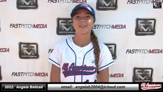 2022 Angela Baltzell Shortstop and Outfield Softball Skills Video - AASA Ayala