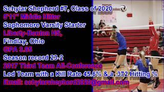 Schy Shepherd #7, VB High School Highlights 2017