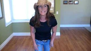 Adria's Boot Scootin Boogie Instructional Dance Video