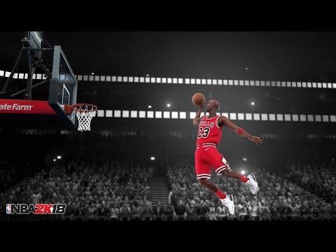 Xbox One X NBA 2K18 MICHAEL JORDAN MYPARK THE PLAYGROUND LEGENDARY GAME PLAY