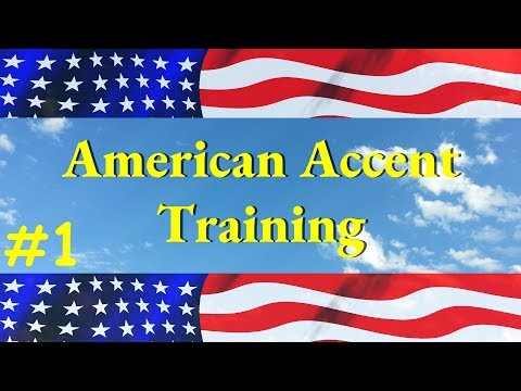 American Accent Training CD1- part 1