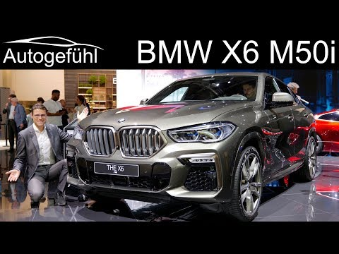 all-new BMW X6 M50i REVIEW Exterior Interior 2020 - Autogefühl